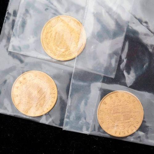 22 12x20 livres Italie en or , 77,4g