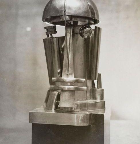 Belling, Rudolf (1886 1972). Photographie : tête de bronze, gen. Sculpture 23e p…