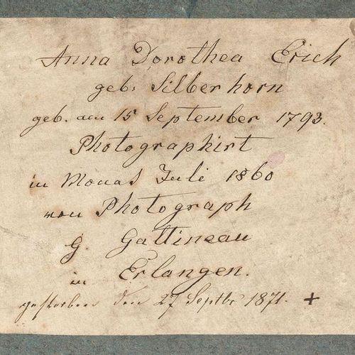 Georg Jakob Gattineau Erlangen 1810 1888 Cobourg 9 photographies, collodion, 185…