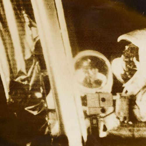 Dpa und AP Juillet 1969 : MOND, tirages d'époque 2 photographies, images radio, …