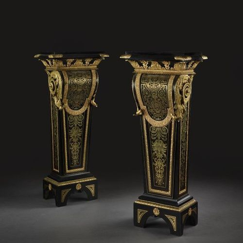 PAIR OF EARLY GAINS NAPOLEON III By Jean Louis Benjamin Gros  Based on the model…