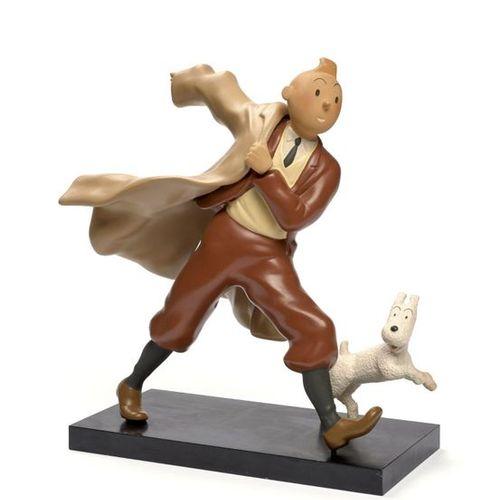 Leblon Delienne LEBLON DELIENNE  Tintin reporter  Résine polychrome pour une scu…