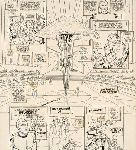 MOEBIUS (Jean Giraud dit) MOEBIUS (Jean Giraud dit)  1938 2012  L'Incal, une ave…