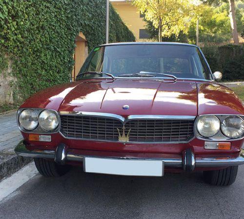 MASERATI Mexico 4.2 1969 Maserati avait abandonné la compétition en 1957 pour se…
