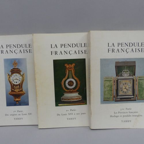 The French Clock / TARDY in 3 volumes  The Measurement of Time in the collection…