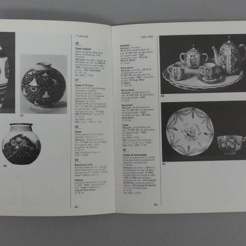 SEVRES, XXth Lot of 2 volumes :  SEVRES, La Manufacture au XXe s. / Jean Paul Mi…