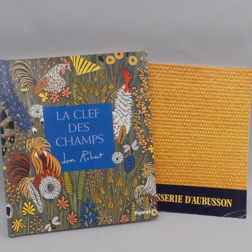 DOM ROBERT, La Clef des Champs / Privat  Aubusson Tapestry, 1983