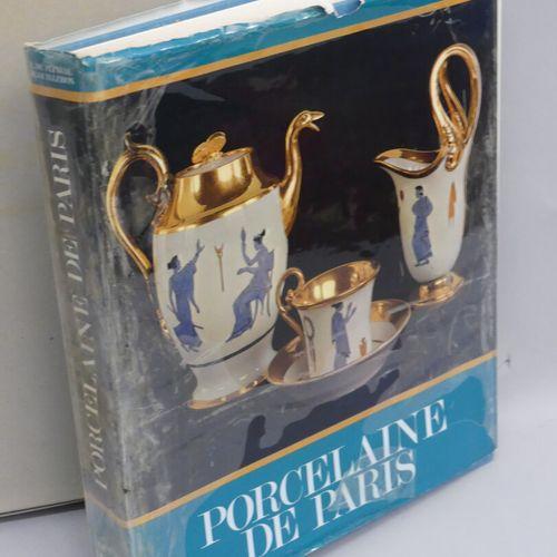PORCELAIN Set of 2 books :  Porcelaine de Paris (1770 1850) / Régine de Plinval …
