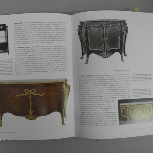 FURNITURE lot of 7 volumes :  French art furniture (1850 1900)  The French headq…