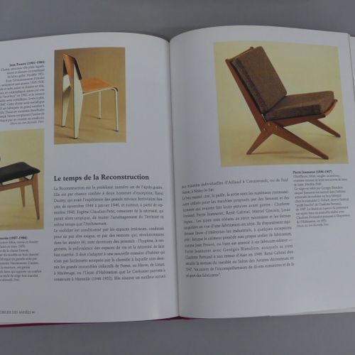FURNITURE XXth Lot of 3 volumes :  20th century furniture / Pierre Kjellberg / L…