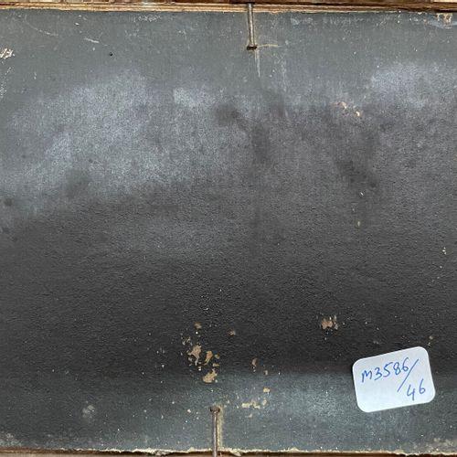 ECOLE FRANCAISE, XIXe  La lettre  Huile sur carton  12,5 x 16 cm