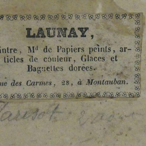 ECOLE FRANCAISE, fin XVIII XIXe  La conscription  Aquarelle  33 x 44 cm