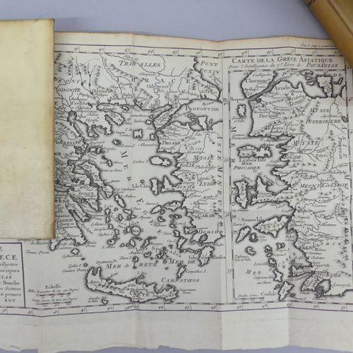 GEDOYN (Abbé). PAUSANIAS, ou Voyage historique de la Grèce. Amsterdam, Aux dépen…