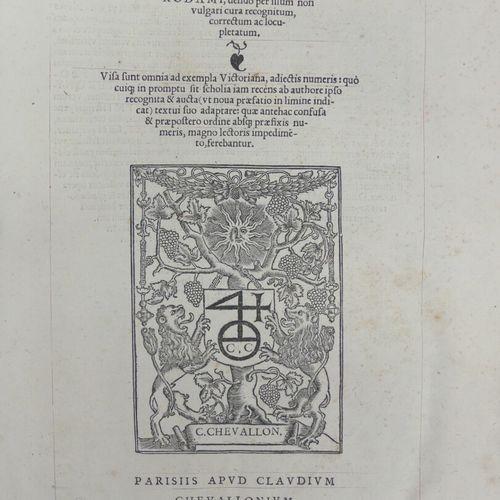 [ÉRASME SAINT JÉRÔME]. OPUS EPISTOLARUM divi Hieronymi Stridonensis, una cum sch…