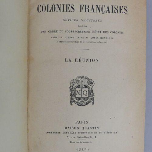 [COLONIES]. LES COLONIES FRANÇAISES. Paris, Quantin, [1889 90]. Six volumes peti…