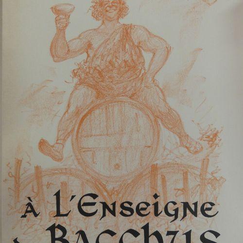 [GASTRONOMIE OENOLOGIE]. CADILHAC (P. É.). À L'ENSEIGNE DE BACCHUS. Paris, Deux …