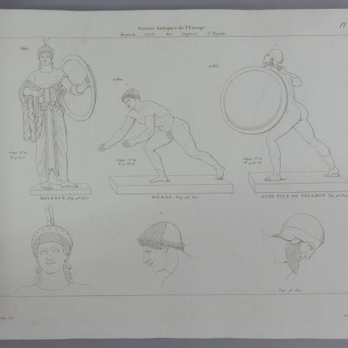 CLARAC (Comte F. De). MUSÉE DE SCULPTURE ANTIQUE ET MODERNE ou Description histo…