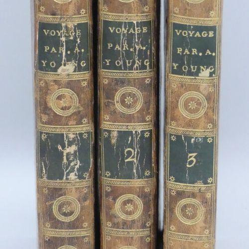 YOUNG (Arthur). VOYAGES EN FRANCE, pendant les années 1787 88 89 et 90, entrepri…