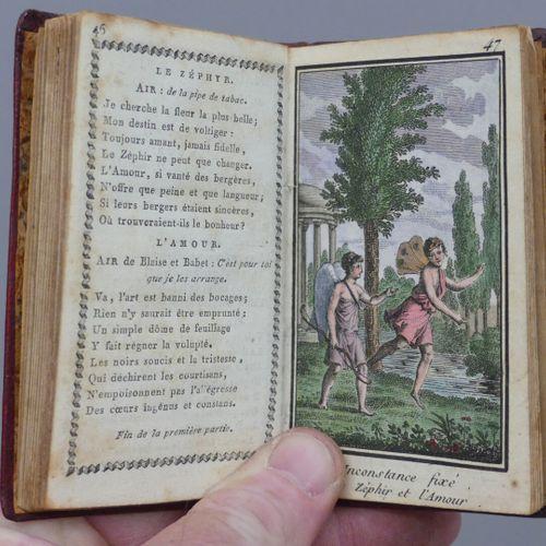 [ALMANACH]. LES AMOURS DE DIANE ET D'ENDYMION. Paris, Marcilly, sans date [1817]…