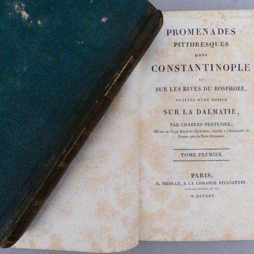 PERTUSIER (Charles). PROMENADES PITTORESQUES DANS CONSTANTINOPLE ET SUR LES RIVE…