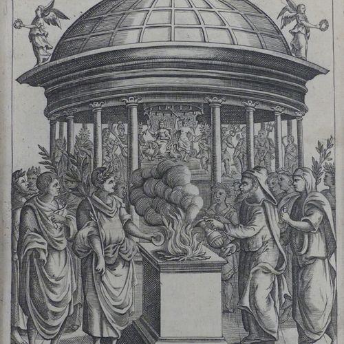 DU CHOUL (Albert). LA RELIGION DES ANCIENS ROMAINS tirée des plus pures sources …