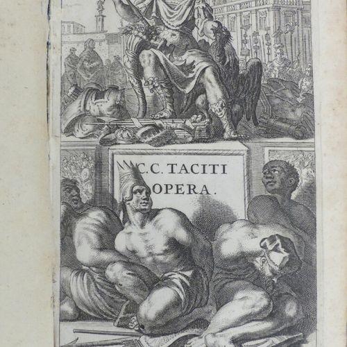 [ELZEVIER]. TACITE. C. CORNELII TACITI OPERA. Amstelodami, Danielem Elsevirium, …