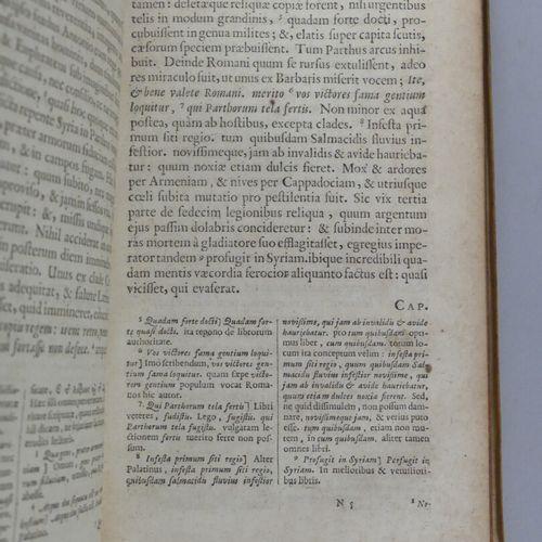 [ELZEVIER]. FLORUS. L. ANNAEI FLORI HIST: ROM: LIB. IV. Cum notis integris CL …