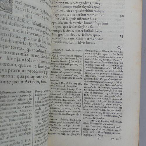 [ELZEVIER]. SÉNÈQUE. L. ANNAEI SENECAE TRAGOEDIAE, I. F. Gronovius recensuit. Lu…