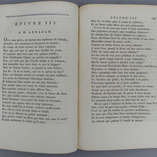 BOILEAU DESPRÉAUX (Nicolas). OEUVRES. Paris, Crapelet, 1798. Grand in 4 veau fau…