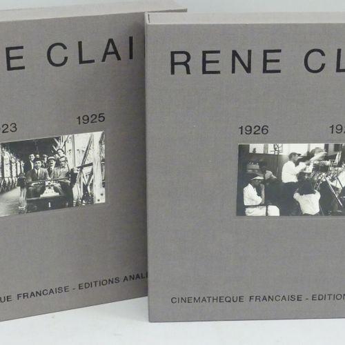 [CINÉMA]. RENÉ CLAIR. 1923 1925 [&] 1926 1928. Paris, Cinémathèque Française, Éd…