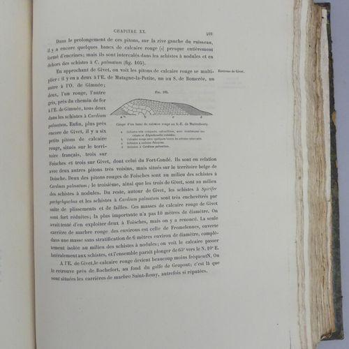 GOSSELET (J.). L'ARDENNE. Mémoires pour servir à l'explication de la carte géolo…