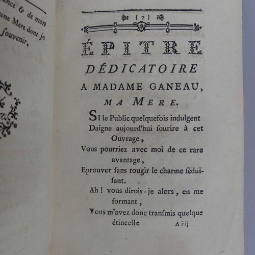 GANEAU (Albert). FABLES NOUVELLES, divisées en cinq livres. Paris, Ganeau, 1760.…