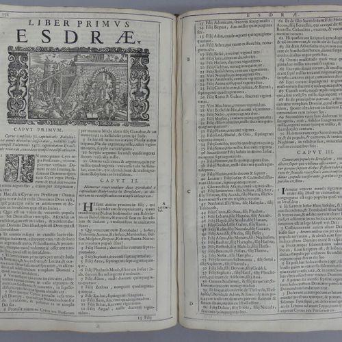[BIBLE]. BIBLIA SACRA vulgatae editionis. Venise, N. Pezzana II, 1688. Fort volu…