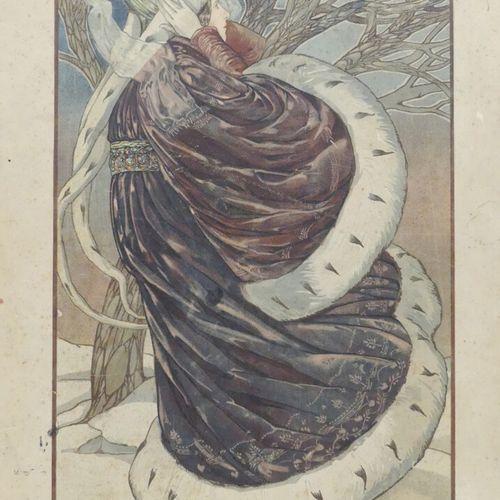 [ART NOUVEAU]. ALBUM DE LA DÉCORATION. Deuxième volume. Paris, Librairie des Art…