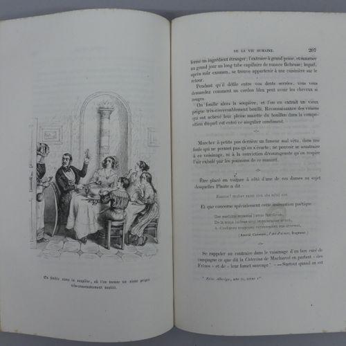GRANDVILLE (J. J.) et OLD NICK. PETITES MISÈRES DE LA VIE HUMAINE. Paris, Fourni…