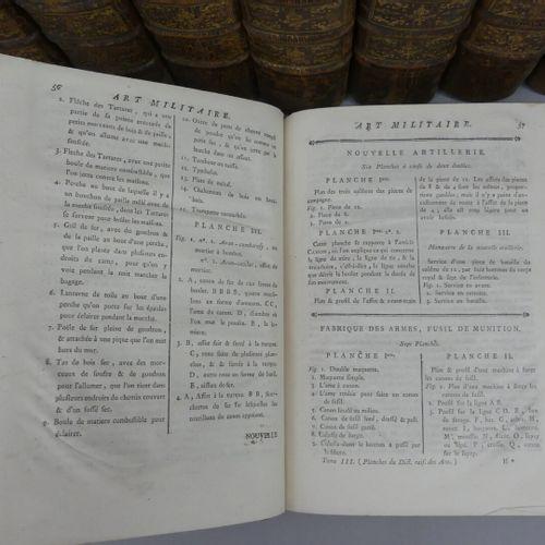 DIDEROT et D'ALEMBERT. ENCYCLOPÉDIE, ou Dictionnaire raisonné des sciences, des …