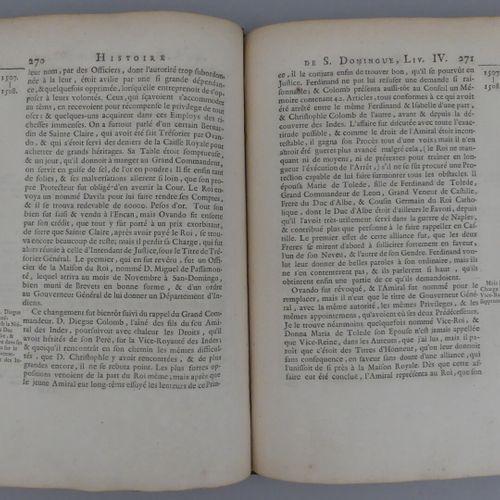 CHARLEVOIX (Pierre François Xavier de). HISTOIRE DE L'ISLE ESPAGNOLE OU DE S. DO…
