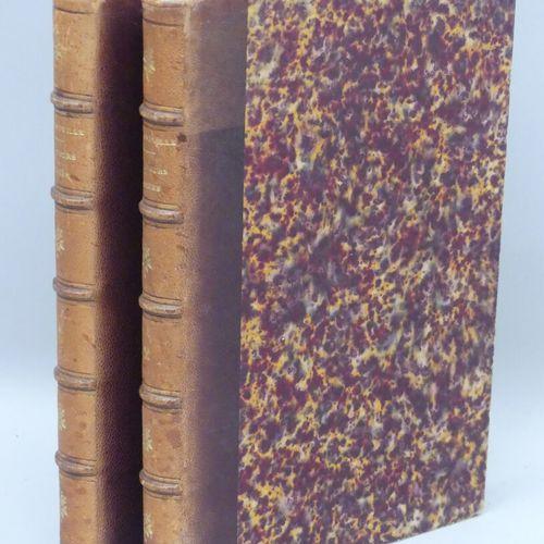 GRANDVILLE (J. J.). LES FLEURS ANIMÉES. Paris, G. De Gonet, sans date [circa 186…