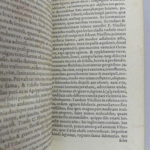 [ELZEVIER]. TACITE. C. CORNELIUS TACITUS EX I. LIPSII ACCURATISSIMA EDITIONE. Lu…