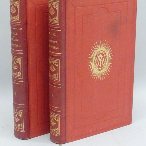 JAL (A.). ABRAHAM DU QUESNE ET LA MARINE DE SON TEMPS. Paris, Plon, 1873. Deux v…