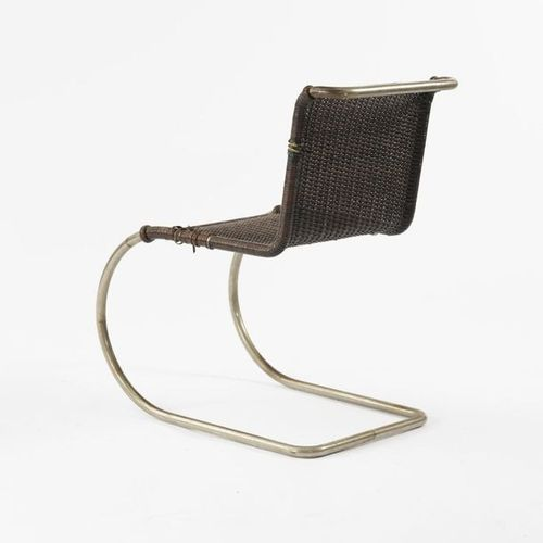 Ludwig Mies van der Rohe, armchair 'MR 10' 'Weissenhof', 1927, h. 80 x 48.5 x 72…