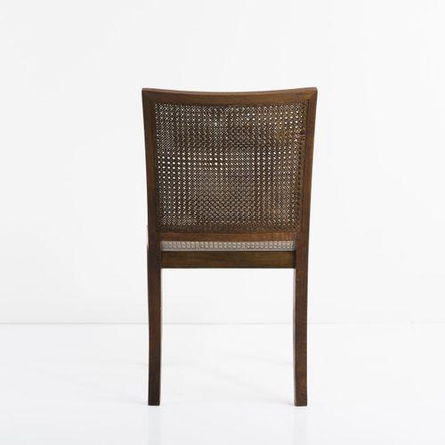 Hans Hartl (attr.), Chaise, c. 1934/35, H. 91,5 x 50,5 x 56 cm. Fabriquée par De…