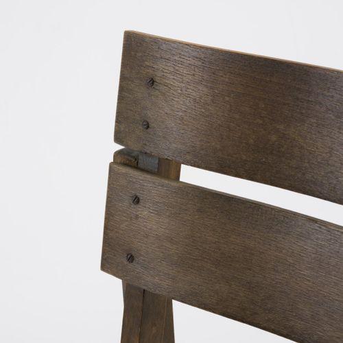 Erich Dieckmann, Chaise c. 1926, H. 80 x 42 x 51,5 cm. Fabriquée à la Bauhochsch…