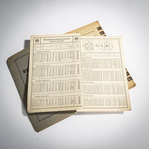 AEG, Berlin, AEG Preisliste, 1929, AEG Büro Stuttgart, AEG Preisliste Auszug aus…