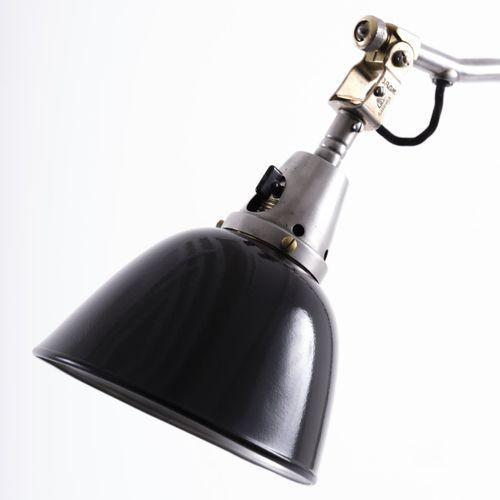 Curt Fischer, lampe de bureau '113', c. 1926, H. 84 cm, D. 16,5 cm. Fabriqué par…
