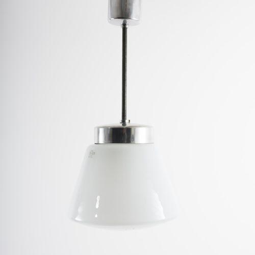 Hin Bredendieck, lampe à suspension '694', c. 1929, H. 72 cm (avec suspension), …