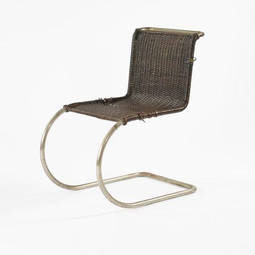 Ludwig Mies van der Rohe, chaise 'MR 10' 'Weissenhof', 1927, H. 80 x 48,5 x 72,5…