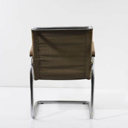 Jindrich Halabala, chaise cantilever 'H 91', 1931, H. 83 x 59,5 x 85 cm ; tube D…