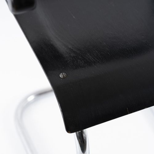 Mauser Werke, Waldeck, fauteuil 'RB 4', c. 1939, H. 85,5 x 53,5 x 52 cm. Acier t…