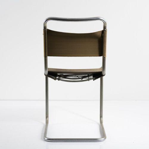 Marcel Breuer, chaise 'B 33' (variation), 1927/1928, H. 85 x 44,5 x 59,5 cm ; Tu…